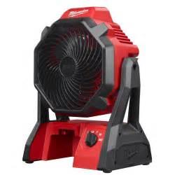 battery powered fan home depot milwaukee m18 18 volt lithium ion cordless jobsite fan