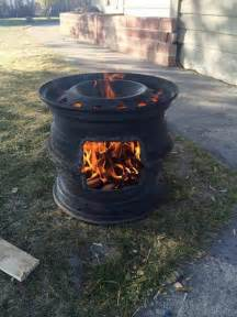 Firepit Bbq Recycled Bbq Pit The Owner Builder Network