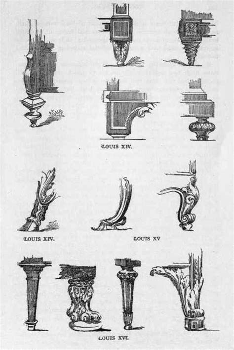 comparison of different furniture styles explained by french furniture leg styles furniture styles explained