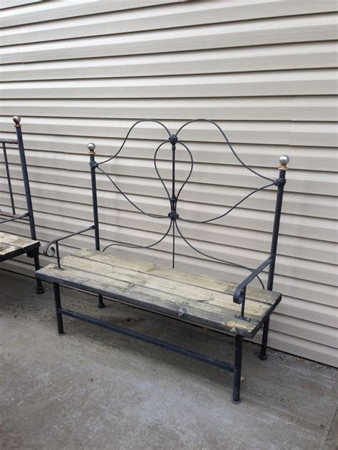 iron bed bench 66 best images about cast iron on pinterest cast iron