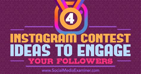 How To Pick A Winner On Instagram Giveaway - 4 instagram contest ideas to engage your followers social media examiner