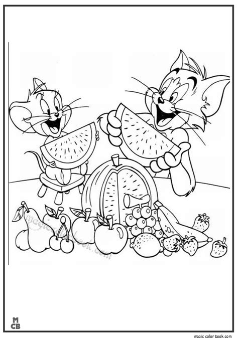 tom and jerry coloring book tom and jerry free coloring pages
