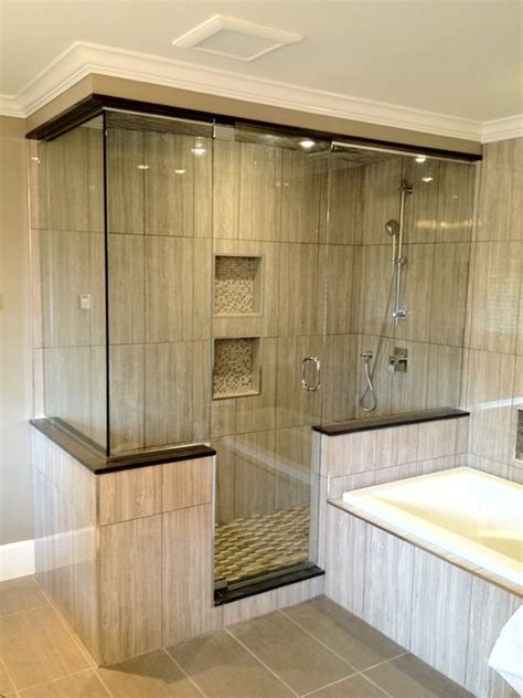 shower enclosures contemporary bathroom vancouver