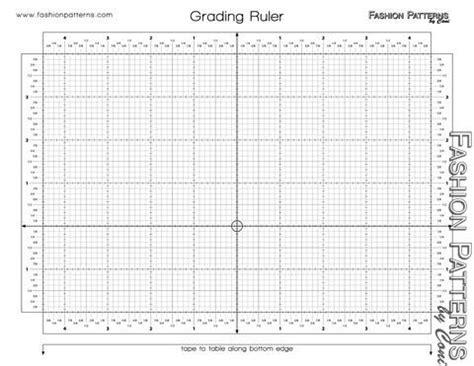 grading ruler pattern making pattern grading tool grading ruler 8 00 product 21