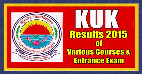 All Mba Entrance Exams List by Kurukshetra M A Mba Btm Entrance Results