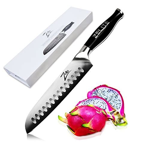 komachi 2 series hollow ground santoku knife galleon kershaw komachi 2 hollow ground santoku