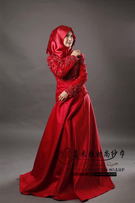 Dress Arabic Bordir Maroon stella free shipping gown wedding dress jiamila muslim wedding wedding dress ideas