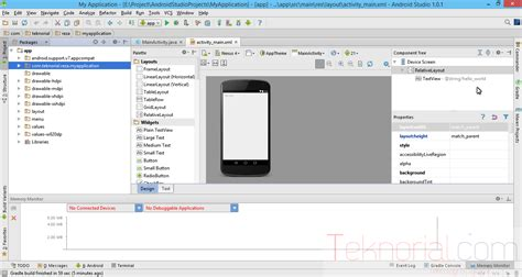 project my screen android membuat project android di android studio angon data