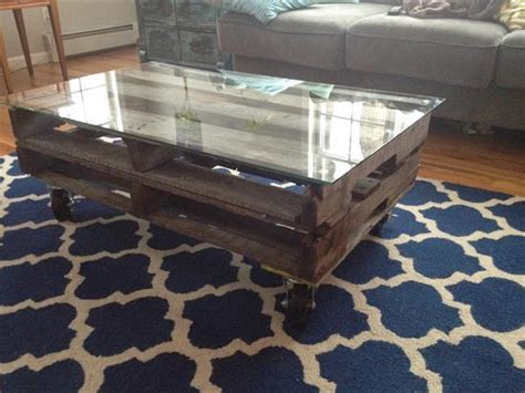 diy glass display coffee table 25 diy pallet ideas easy to make pallet glass table pallets designs