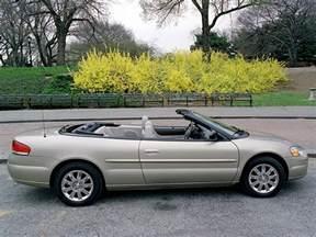 Chrysler Sebring 2003 Convertible Chrysler Sebring Convertible Specs 2003 2004 2005