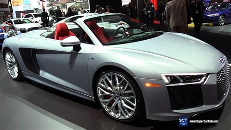 New Audi R8 2018 by 2018 Audi R8 V10 Exterior And Interior Walkaround 2017