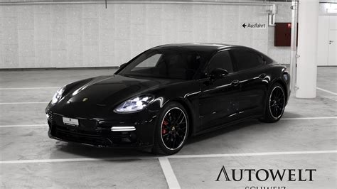 porsche panamera 2017 black porsche panamera turbo 2017 youtube
