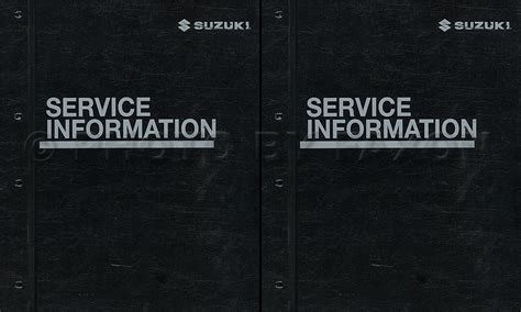 2007 suzuki xl 7 repair shop manual original set binder xl7