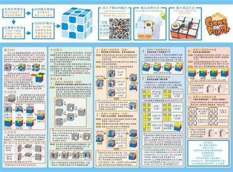 after solving one sided rubik s cube shopkeeper recommend rubik s cube formula card gans cfop