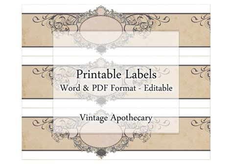 free printable soap label templates soap labels printable apothecary editable label band floral custom vintage style design