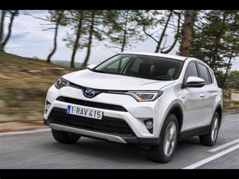 2018 toyota rav4 hybrid review youtube