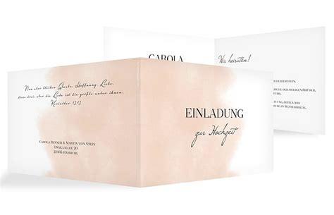 Einladung Hochzeit Apricot by Einladung Zur Hochzeit Quot Soft Aquarelle Quot