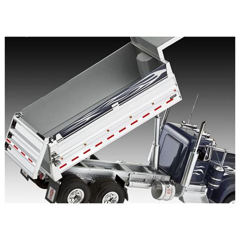 kenworth automatic plastic modelkit auto 07406 kenworth dump truck 1 25