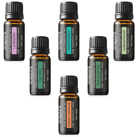 essential oil amazon aromatherapy essential oils gift set 16 99 from amazon reg 79 99