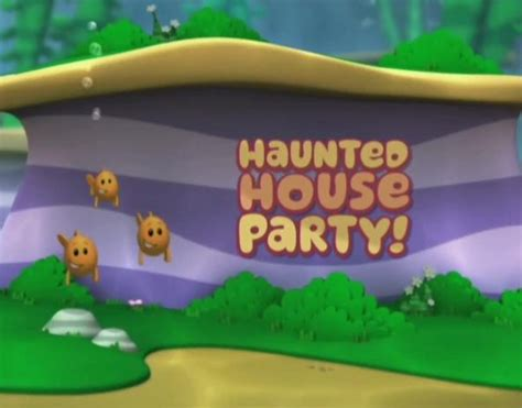 bubble guppies haunted house party haunted house party bubble guppies wiki