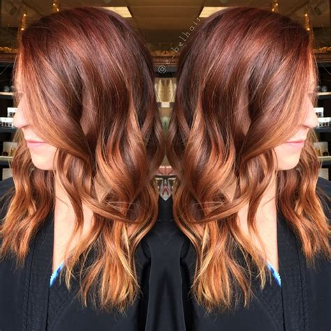 copper red ombre hair balayage 25 best ideas about copper balayage on pinterest