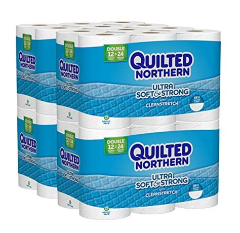 Quilted Northern Ultra Plush Rolls 48 Count by 22 Quilted Northern Ultra Soft Strong Rolls
