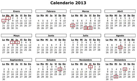 Calendario Laboral Madrid Calendario Laboral 2013 Madrid Jpg
