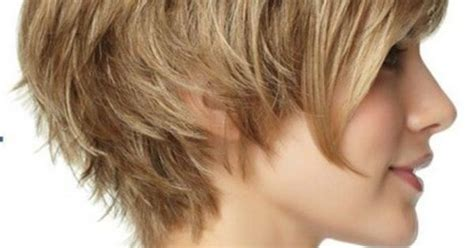 short tuck behind the ear hairstyles love it modern short shag style the long piece can be