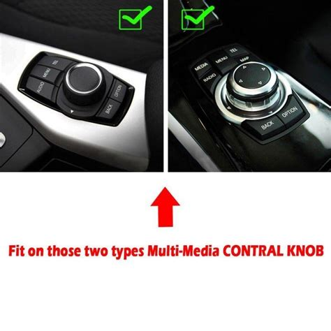 idrive controller knob w carbon trim buttons frame fit