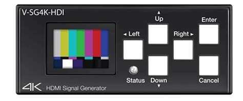 test pattern generator software marshall electronics v sg4k hdi 4k hdmi compact