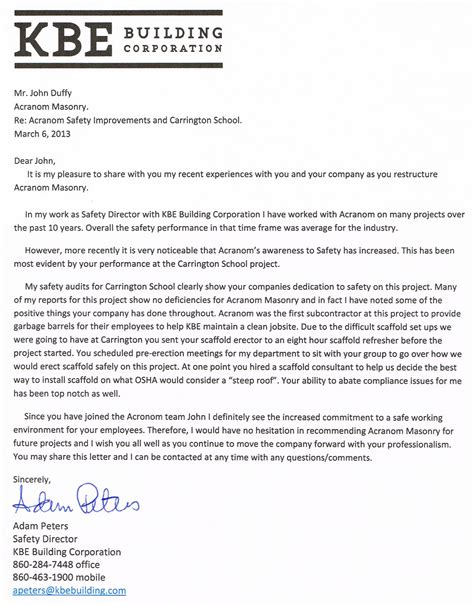 Commitment Letter Construction Morganti Gilmartin New Elementary School Prek 8