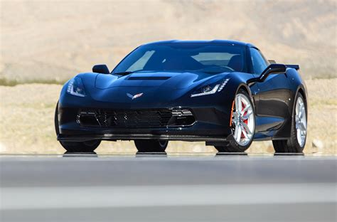chevrolet corvette performance parts c7 stingray z51 equipped with z06 flowdown parts hits the