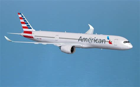 United Airlines American Airlines by American Airlines Airbus A350 900 V4 For Fsx