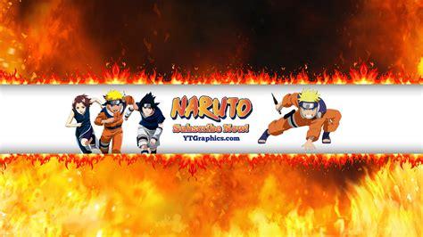 naruto yt naruto youtube channel art banners