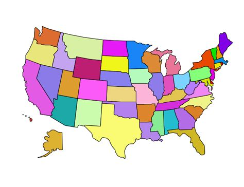 image of a map of the united states united states map clip vector clip