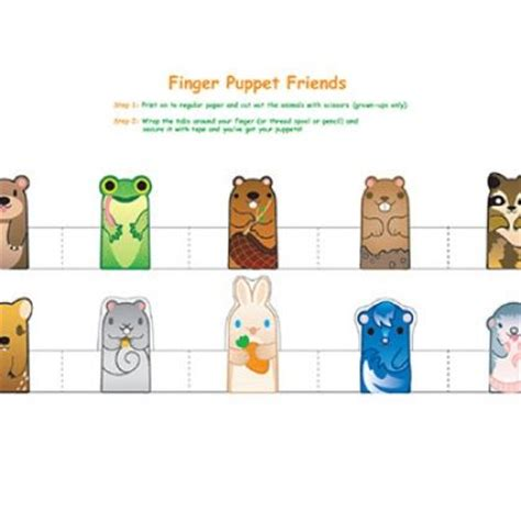 paper finger puppets templates 1000 images about printable finger puppets on