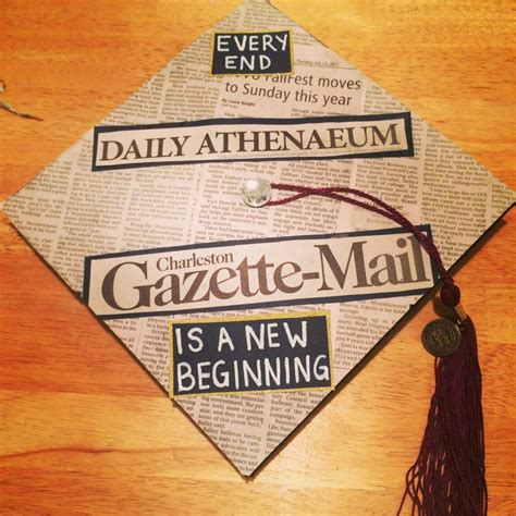 Journalism Major by Graduation Cap For Journalism Major College Graduate