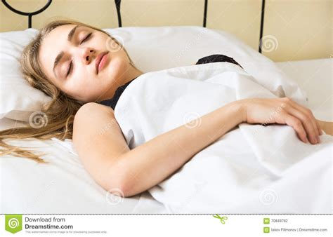 Sleep L by Portrait Of Sleeping In Bed Stock Photo Image 70849762