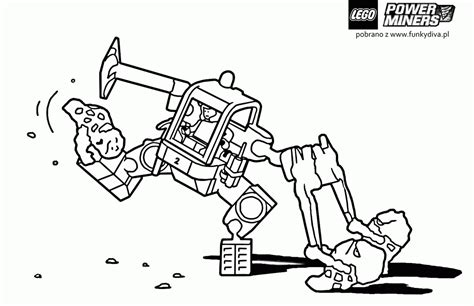 lego coloring pages to print power miners power miners coloring pages az coloring pages