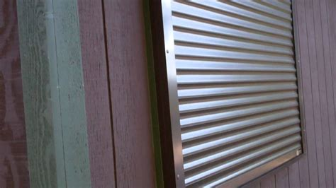 rolling shutters security shutters on cabin
