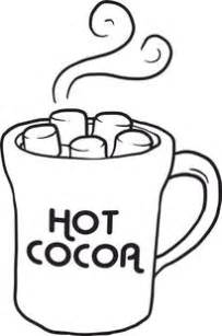 Free Printable Cup Of Hot Cocoa Coloring Page For Kids Chocolate Cup Template