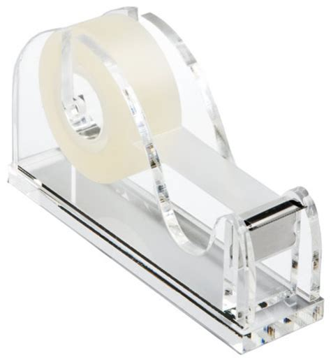 Acrylic Tape Dispenser Modern Desk Accessories By Lucite Desk Accessories