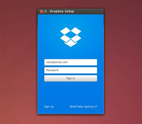 drop box for windows dropbox 3 for linux goes stable with qt ui set up wizard