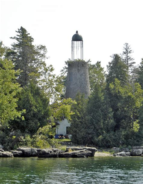 lighthouses of door county wisconsin travel photos by