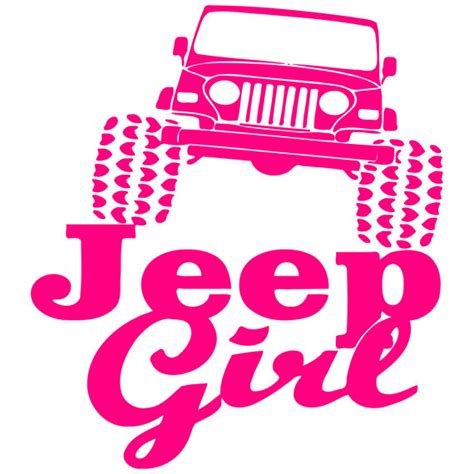 jeep stickers for girls funny 4 x 4 jeep car truck window laptop vinyl decal
