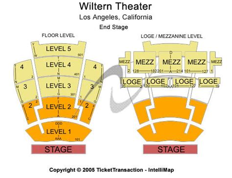 the wiltern seat map the wiltern los angeles ca seating chart the wiltern