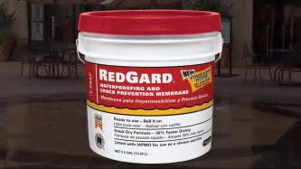 waterproof paint for showers how to use redgard 174 liquid waterproofing and