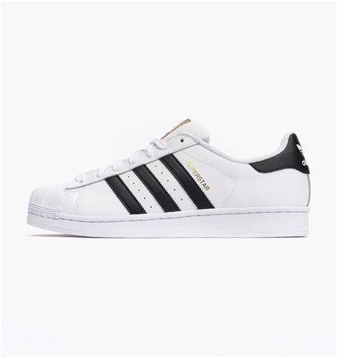 Adidas Superstar All White 100 Original adidas superstar foundation shelltoes c77124 footwear white black gold metallic ebay
