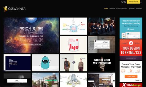 decorating sites 39 behind the scenes website awards and web design