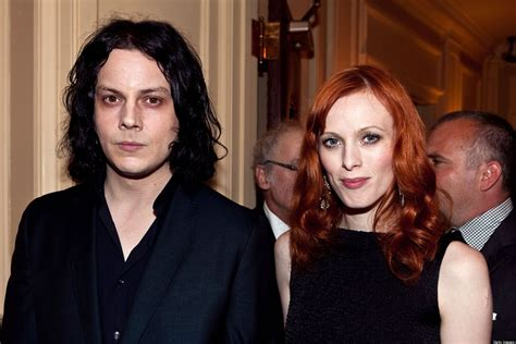 jack white karen elson jack white karen elson model discusses divorce from